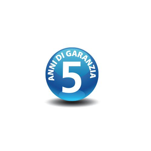 2 – 5 anni di garanzia